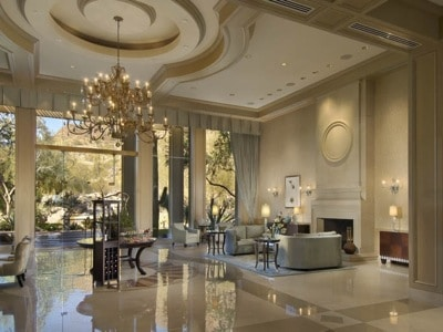 Lobby at Canyon Suites at The Phoenician