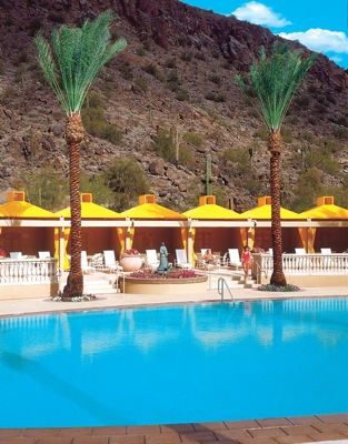 Pool at Canyon Suites at The Phoenician