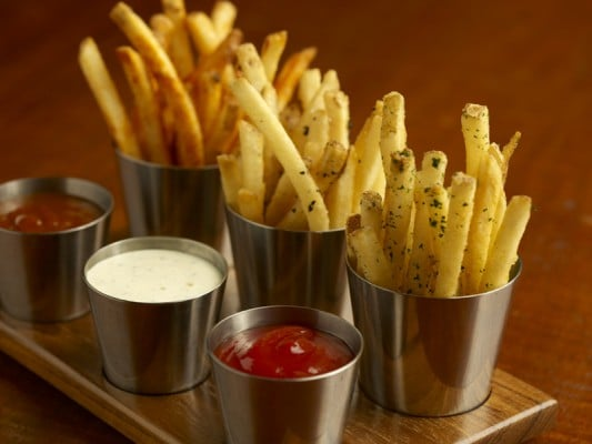Duck Fat Fries at Bourbon Steak