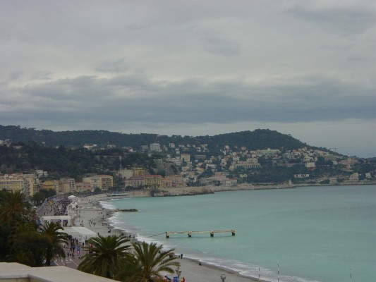 View of Nice from Hotel Negresco