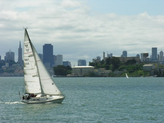 Sailing in San Francisco Bay