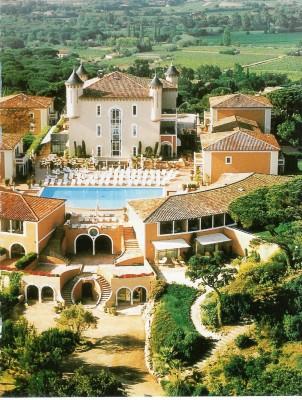 Aerial View Chateau de la Messardiere
