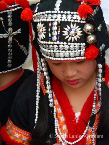 Girl near Chiang Mai