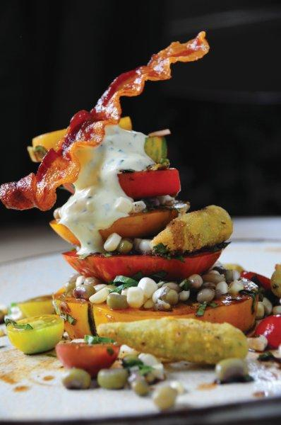 Chef Chris Hastings Hot and Hot Fish Club Tomato Salad