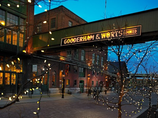 Distillery District of the most diverse city in Canada