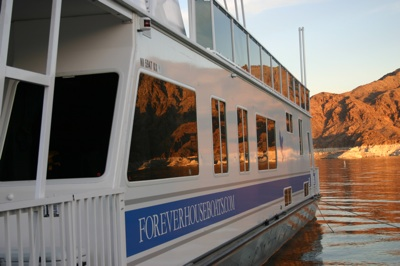 Houseboat on Lake Mead