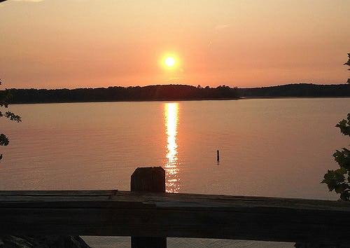Enjoy a sunset cruise at Mountain Harbor. Photo courtesy Mountain Harbor