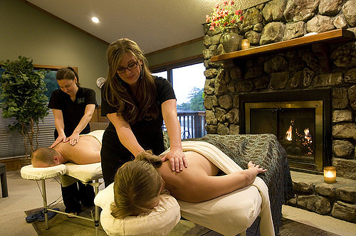 Enjoy a Spa Treatment at Turtle Cove Spa or in the comfort of your own cabin. Photo courtesy Mountain Harbor