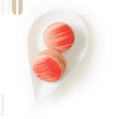 Rose Macarons from Paulette's Beverly Hills