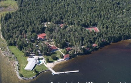 Aerial View Gordon Lodge