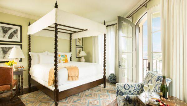 Bedroom at Canary Hotel. Photo courtesy Canary Hotel