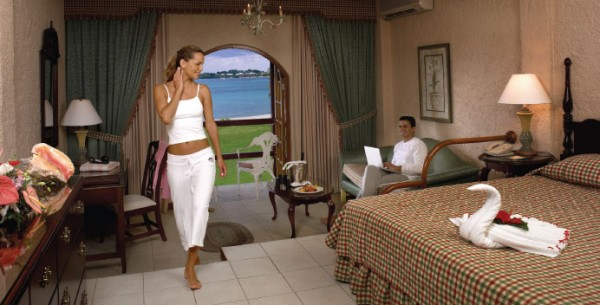 Beach front Junior Suite Negril