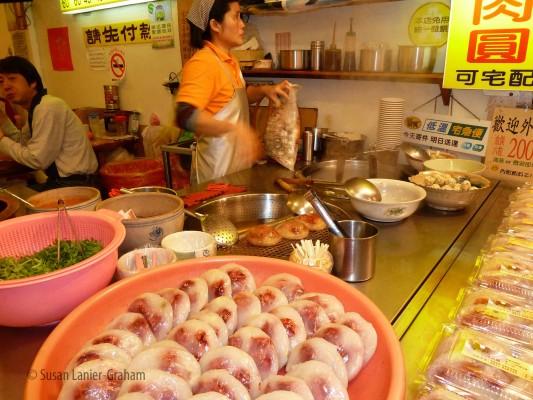 Jioufen Market - Jin Zhi meatballs