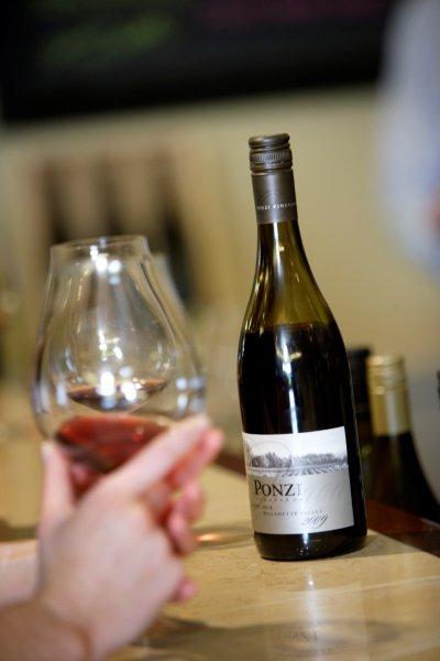 Tasting Room at Ponzi Vineyards