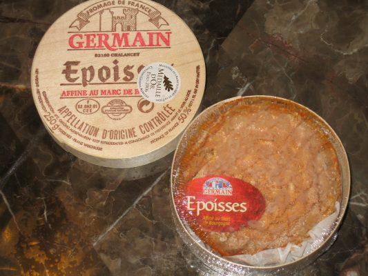 Epoísses de Bourgogne. Photo by Sominsky at English Wikipedia