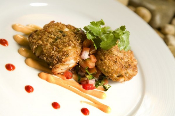 Crab Cakes at Cabernet Grill
