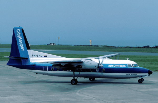 NLM CityHopper at Maastricht Airport, The Netherland. Photo credit: Wikimedia