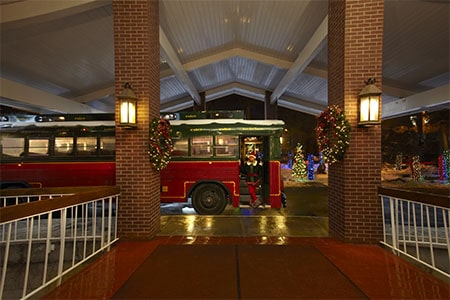 Magic trolley to the North Pole Experience