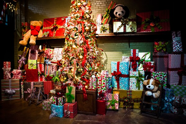 Presents at North Pole Experience