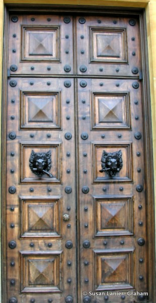 Highclere Castle front door
