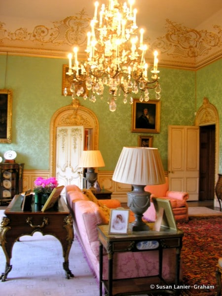 Drawing room at Highclere Castle