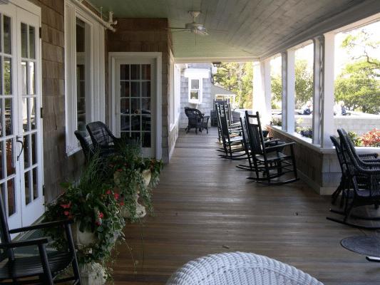 Black Point Inn front porch