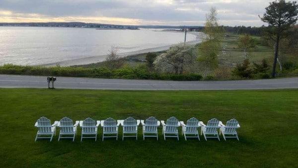 Black Point Inn lawn chairs