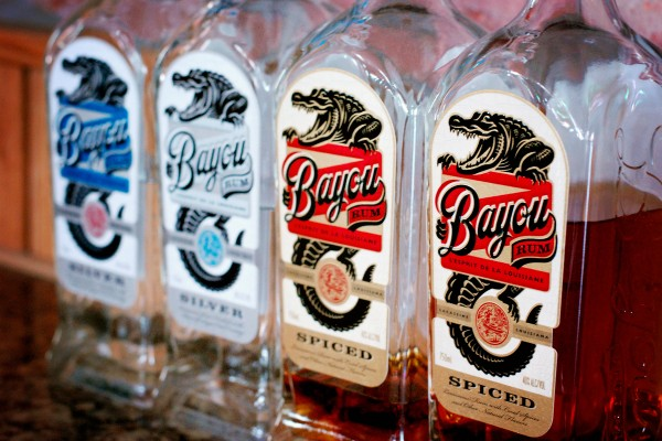 Bayou Rum from Louisiana Spirits. Photo courtesy Louisiana Spirits Distillery