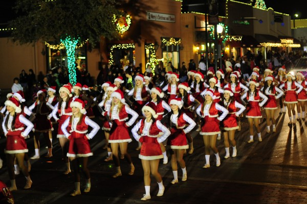 Grapevine's Parade of Lights