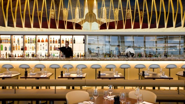 Gordon Ramsay'ss Plane Food at London Heathrow offers a new take on the term luxury dining.