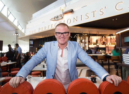 Heston Blumenthal's The Perfectionist's Cafe inside London Heathrow has become sort of a go-to place for luxury travellers