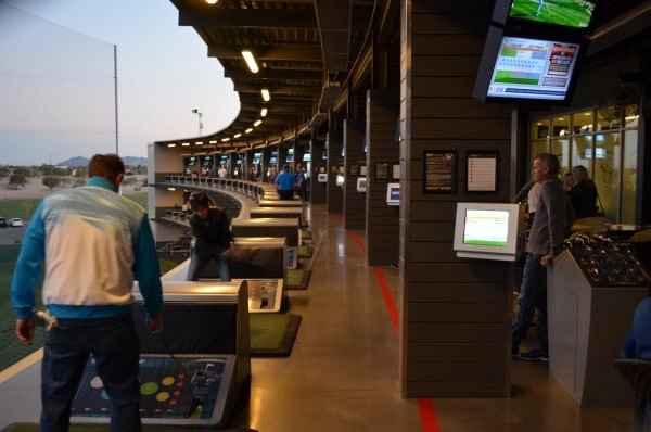 Topgolf Hitting Bays