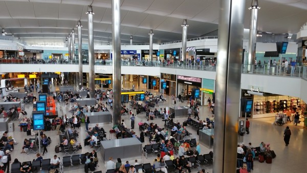 London Heathrow is the world' third most active airport