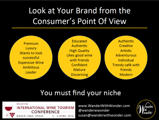 Look at your brand from the consumer's point of view
