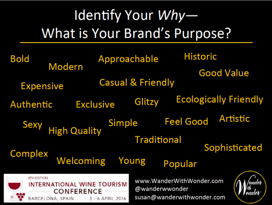 Identify Your Why - what is your brand's purpose?