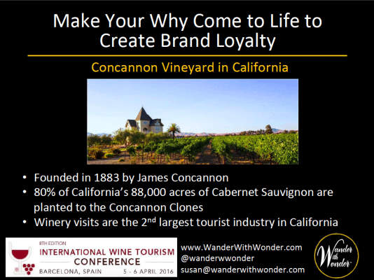Concannon Vineyard makes their brand come to life