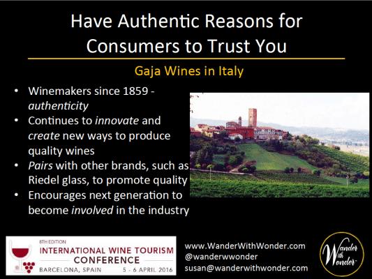 Gaja Wines works to ensure authenticity
