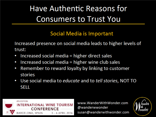 Social Media plays an important role in building trust
