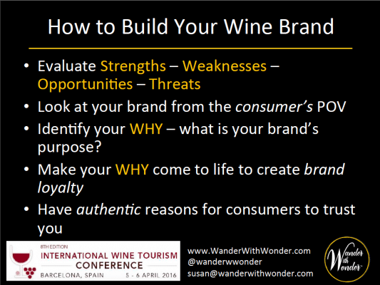 How to build your wine brand