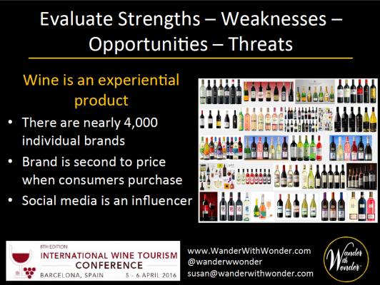 Wines is about selling feelings