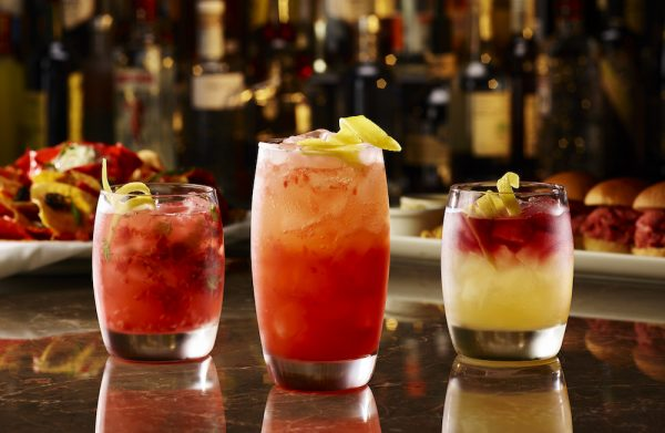 Featured Cocktails at The Keg. Photo courtesy Keg Steakhouse
