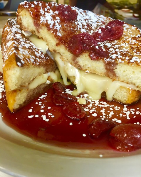 There are many breakfast choices on the special menu for Mother's Day. Photo courtesy Perk Eatery